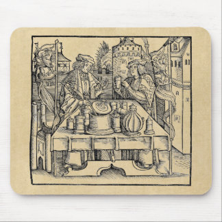 Royal Alchemist in the Castle Walls Mouse Pad