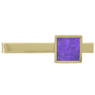 Royal Amethyst Purple Modern Tie Bar