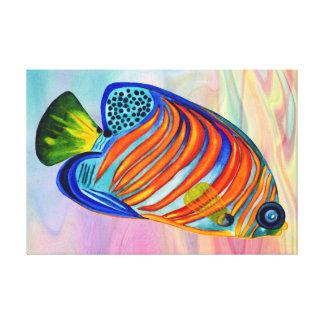 Royal Angelfish canvas print