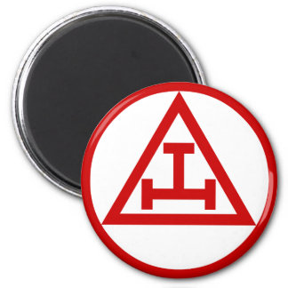 Royal Arch Masons 2 Inch Round Magnet