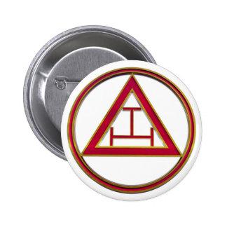 Royal Arch Triple Tau Button