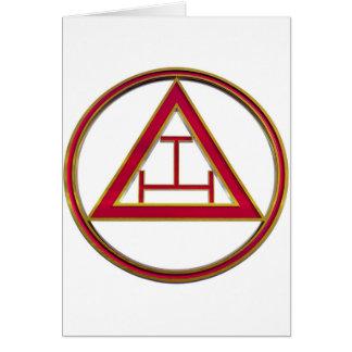 Royal Arch Triple Tau Card