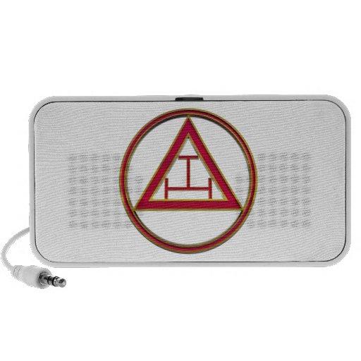 Royal Arch Triple Tau iPod Speaker