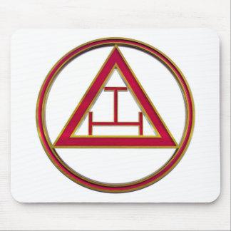 Royal Arch Triple Tau Mouse Pad