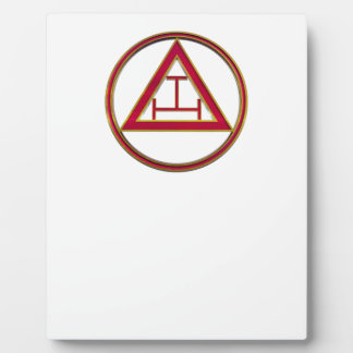 Royal Arch Triple Tau Plaque