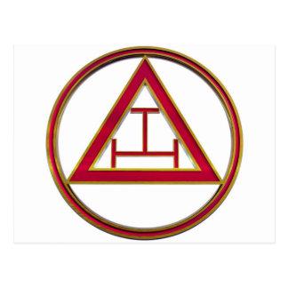 Royal Arch Triple Tau Postcards