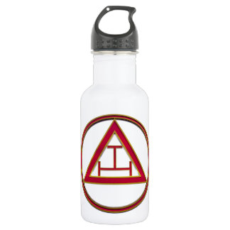 Royal Arch Triple Tau Stainless Steel Water Bottle