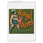 Royal Arms Fruit Crate Label