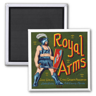 Royal Arms Magnet