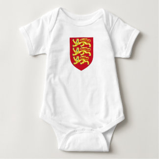 Royal Arms of England (1198-1340) Baby Bodysuit