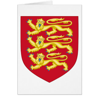 Royal Arms of England (1198-1340) Card
