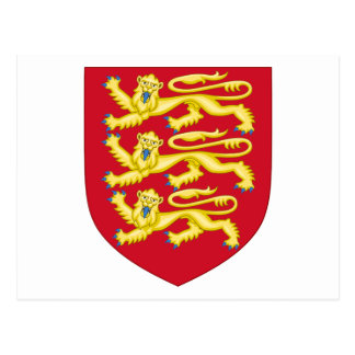 Royal Arms of England (1198-1340) Postcard