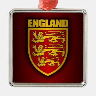 Royal Arms of England Metal Ornament