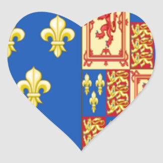 ROYAL ARMS OF MARY QUEEN OF SCOTS FRANCE AND ENGLA STICKERS