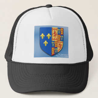 ROYAL ARMS OF MARY QUEEN OF SCOTS FRANCE AND ENGLA TRUCKER HAT