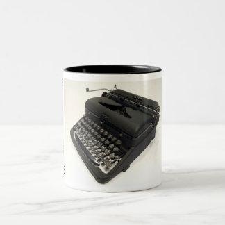 Royal Arrow typewriter Two-Tone Coffee Mug