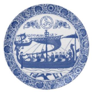 Royal Asatru: Bayeaux Tapestry Vikings Plate
