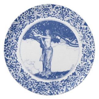 Royal Asatru: Freya Blu Plate