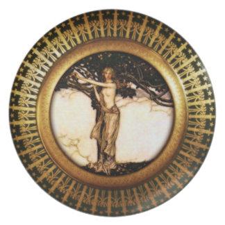 Royal Asatru: Freya Gold Plate