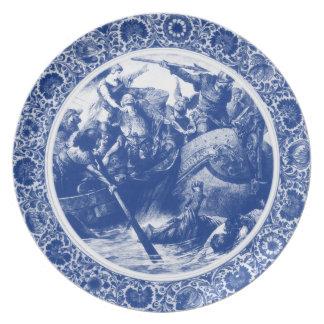 Royal Asatru: Norse Raid China Plate