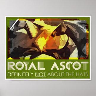 Royal Ascot classic poster/print Poster