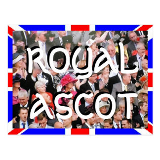 Royal Ascot Diamond Jubilee postcard