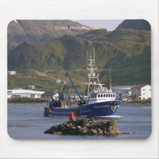 Royal Atlantic, Fishing Trawler in Dutch Harbor Mousepad
