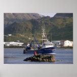 Royal Atlantic, Fishing Trawler in Dutch Harbor Print