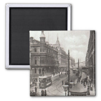Royal Avenue, Belfast, c.1900 2 Inch Square Magnet