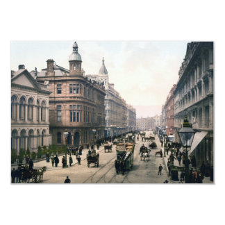 Royal Avenue Belfast Co. Antrim, Ireland 1890 3.5x5 Paper Invitation Card