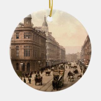 Royal Avenue, Belfast, Northern Ireland Ceramic Ornament