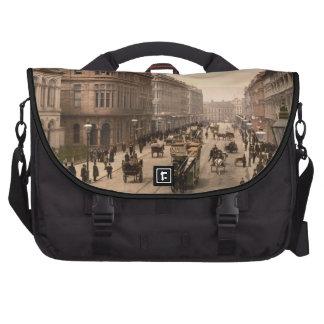 Royal Avenue, Belfast, Northern Ireland Laptop Bag