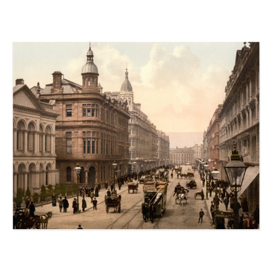Royal Avenue Belfast Postcard