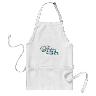 Royal Baby 2013: Congratulations William & Kate Adult Apron