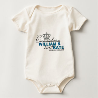 Royal Baby 2013: Congratulations William & Kate Baby Bodysuit