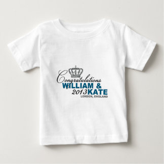 Royal Baby 2013: Congratulations William & Kate Baby T-Shirt