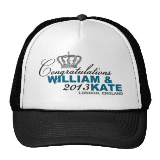 Royal Baby 2013: Congratulations William & Kate Trucker Hat