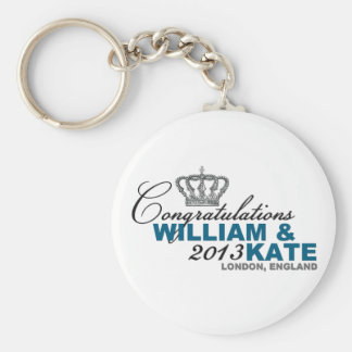 Royal Baby 2013: Congratulations William & Kate Keychains