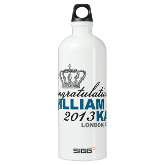 Royal Baby 2013: Congratulations William & Kate Water Bottle