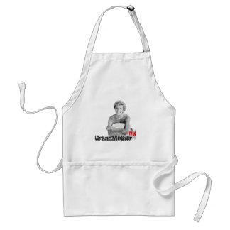 Royal baby adult apron