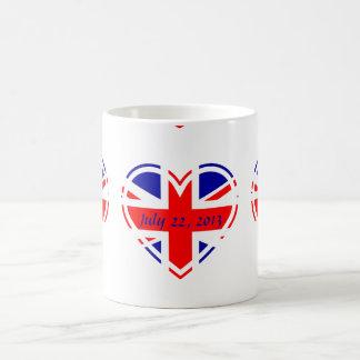 Royal Baby Born 2013 Union Jack Flag Mug