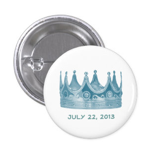 Royal Baby Born Crown Button