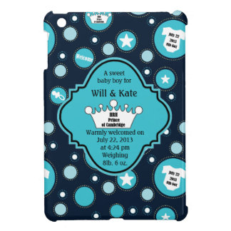 Royal Baby Boy for William and Catherine 2013 iPad Mini Covers