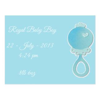 Royal Baby Boy Postcard