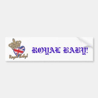 Royal Baby Bumper Sticker