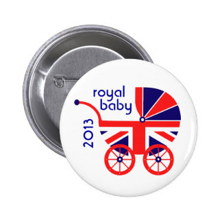 Royal Baby Carriage Button