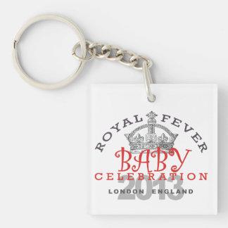 Royal Baby Celebration Acrylic Keychain