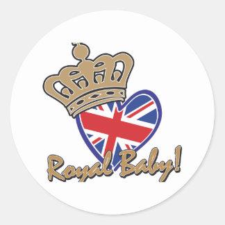 Royal Baby Classic Round Sticker