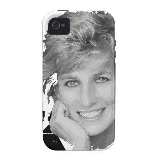 Royal baby - Diana Princess iPhone 4 Cases