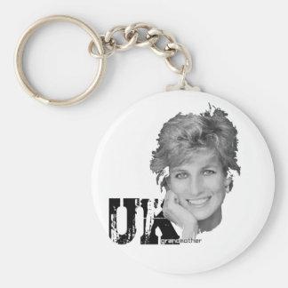 Royal baby - Diana Princess Keychain